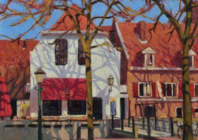 Middag Amersfoort,50x60cm,2009
