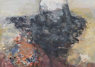 Claudie Poinsard peinture sur toile 2019